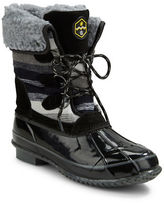 Khombu Jilly Faux Fur-Lined Snow Boots