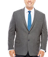 COLLECTION Collection by Michael Strahan Grey Flannel Sport Coat-Big and Tall