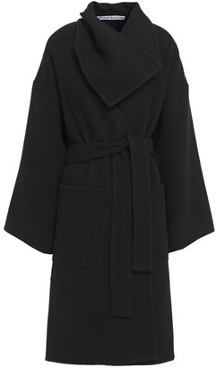 J.W.Anderson Belted Wool And Cashmere-blend Felt Coat