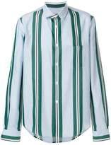 Golden Goose Deluxe Brand striped fitted shirt