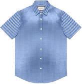 Gucci Checked cotton short sleeve Duke shirt