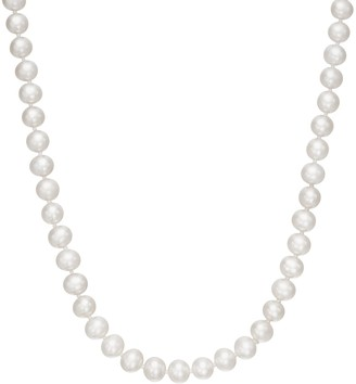"""Freshwater by HONORA Freshwater Cultured Pearl Necklace in 10k Gold - 18"""""""