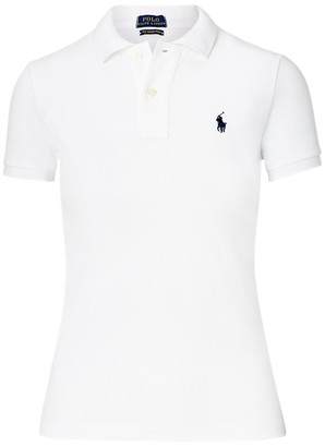 Ralph Lauren Skinny Fit Mesh Polo Shirt