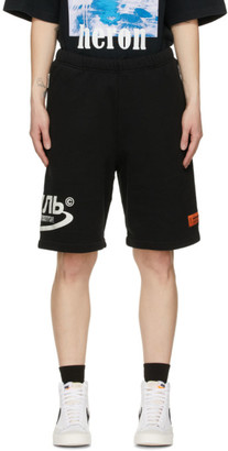 Heron Preston Black Style Halo Shorts