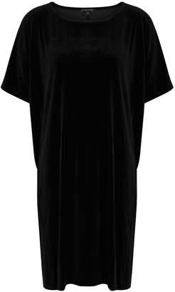 Eileen Fisher Black Velvet Dress