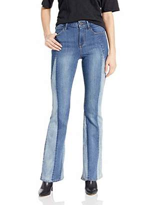 Skinnygirl Women's The High Rise Flare Jean