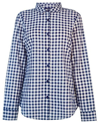 Kangol Long Sleeve Check Shirt Ladies