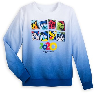 Disney Mickey Mouse and Friends Ombre Pullover Sweatshirt for Women Walt World 2020