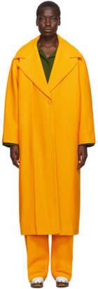 Jacquemus Orange Le Manteau Quito Coat