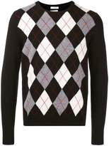 Valentino argyle jumper