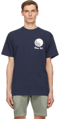 Vans Navy Free and Easy Edition Logo T-Shirt