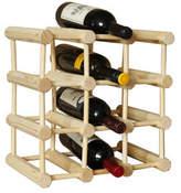12 Bottle Stakrax Natural Wine Rack