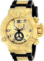 Invicta Men's 15802 Subaqua 18k Ion-Plated Stainless Steel Watch with Black Polyurethane Band