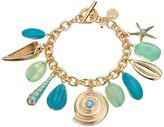 Dana Buchman Shell & Starfish Charm Toggle Bracelet