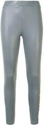 Fila Logo-Print High-Shine Leggings
