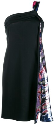 Emilio Pucci abstract sequin embroidery dress