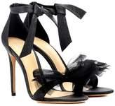 Alexandre Birman Exclusive to mytheresa.com – Clarita lamé and tulle sandals