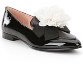 Kate Spade Cinda Patent Leather Flower Detail Loafers