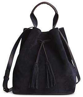 Gerard Darel Saxo Leather Bucket Bag