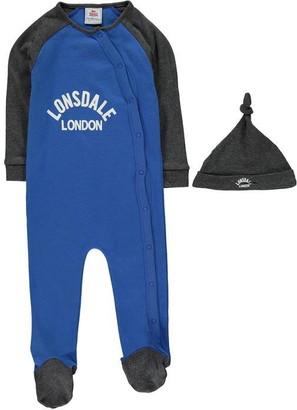Lonsdale London Sleep Suit Baby Boys