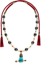 Gucci Beaded necklace with hand pendant