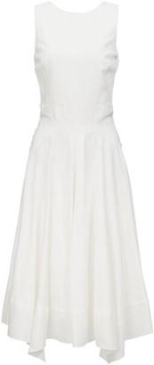Loro Piana Phoebe Textured Silk Sleeveless Dress