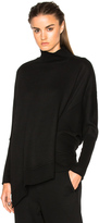 Ann Demeulemeester Turtleneck Asymmetric Sweater