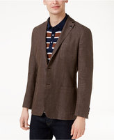 Michael Kors Men's Slim-Fit Textured Cotton Blazer
