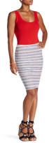 Velvet by Graham & Spencer Kipp Stripe Knit Skirt