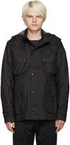 Isaora Ssense Exclusive Black 3l Moto Jacket