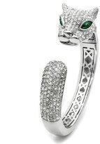 Mai Jewelry Shop & Hair Accessories Jaguar/Leopard Cubic Zirconia Pave Cuff/Bangle