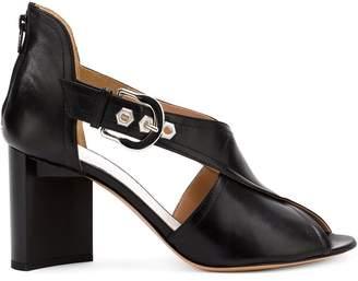 Maison Margiela crossover strap sandals