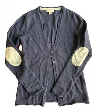 Burberry Blue Cashmere Knitwear