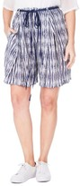 Plus Size Women's Elvi Tie Dye Shorts
