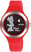 Am.pm. Disney Minnie Mouse Women's Watch by AM:PM DP155-U354 Silicone Strap