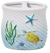 Skl Home SKL Home Watercolor Ocean Toothbrush Holder, Multicolor