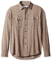 James Campbell Men's Zahar Flannel Long Sleeve Shirt