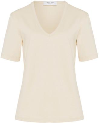 Ivy & Oak Organic Cotton V- Neck T-shirt