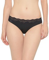 Gilligan & O Women's Micro Laser Cut Thong - Gilligan & O'Malley