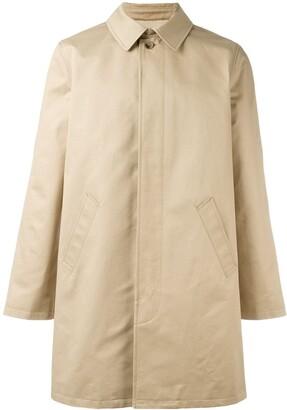 A.P.C. Classic Single-Breasted Coat
