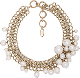 Lanvin Pearl Choker Necklace