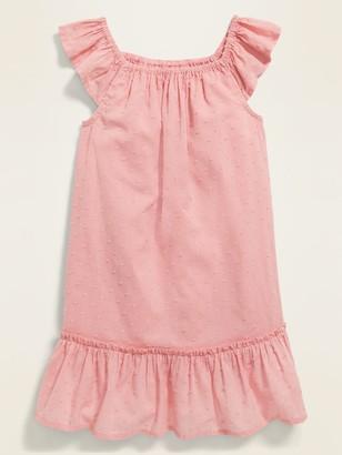 Old Navy Swiss-Dot Tiered-Hem Dress for Toddler Girls