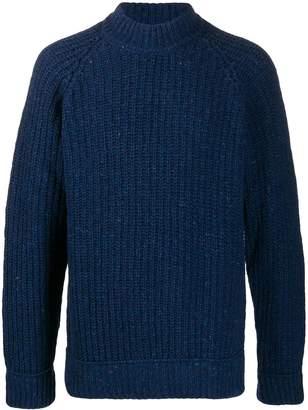 Woolrich longline crewneck sweater