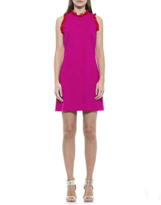 Alexia Admor Blair Ruffle Sleeveless Sheath Dress