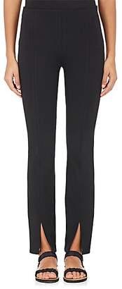 The Row Women's Thilde Tech-Fabric Scuba Leggings - Black