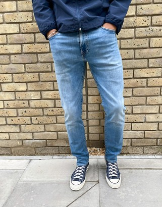 Levi's 511 slim fit jeans in gren canyon cool