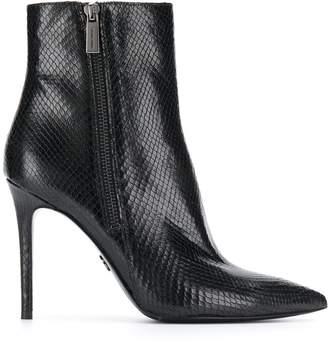Michael Kors Keke embossed ankle boots