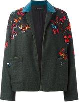 Michel Klein 'butterflies' embroidered jacket
