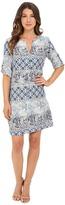 Christin Michaels Erlina Printed Dress