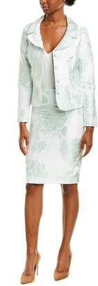 Tahari ASL 2Pc Jacket & Skirt Set